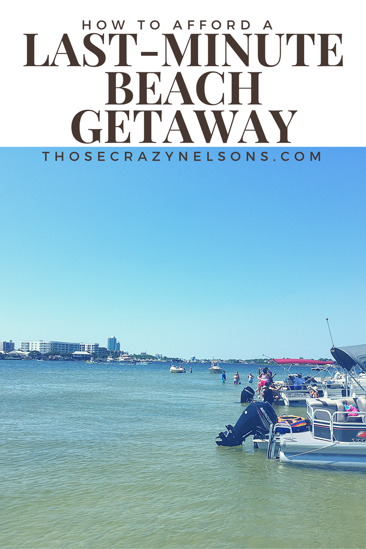 It would be a travesty if  you assumed  you could not afford a beach vacation without ever looking at the cold, hard numbers. Read more...ThoseCrazyNelsons.com #familytravel #GulfShores #oranagebeach #beachgetaway #Beachvacay