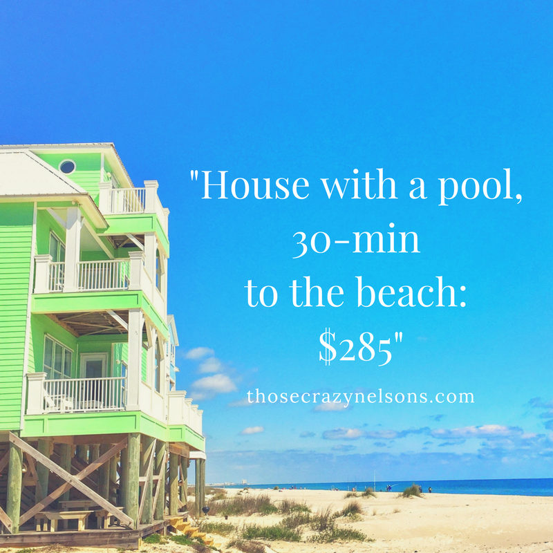 How to afford a last-minute beach getaway, Thosecrazynelsons.com, Photo: Samantha Nelson Photography