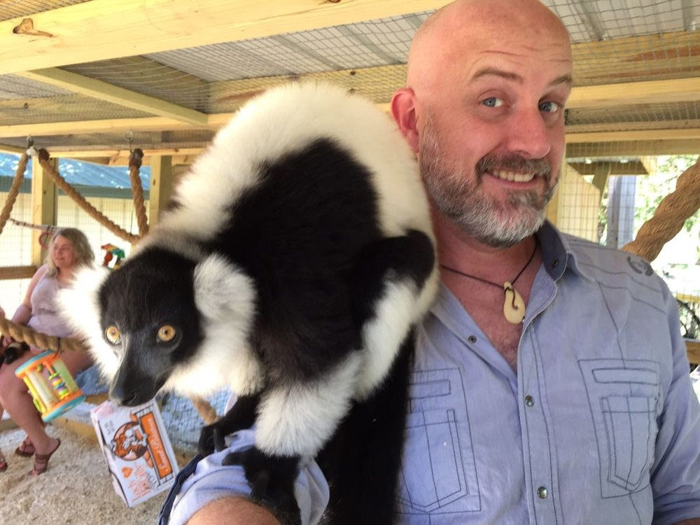Alabama Gulf Coast Zoo: Lemur experience