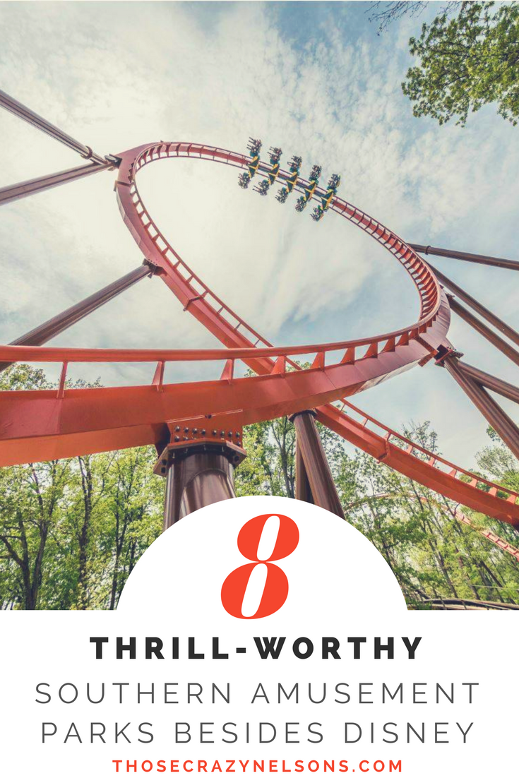 Read our latest post about Thrill-Worthy Southern Amusement Parks!