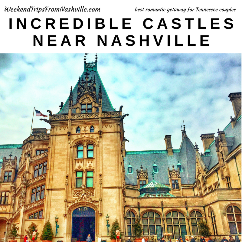Did you know there are 3 castles to choose from near Nashville, TN?