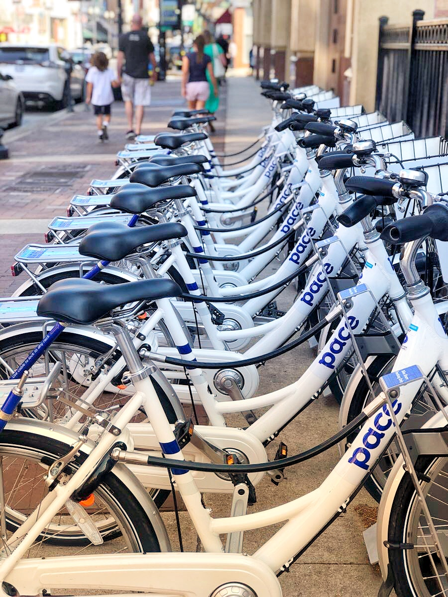 Pace bike rentals, Things to do in Knoxville, TN via ThoseCrazyNelsons.com