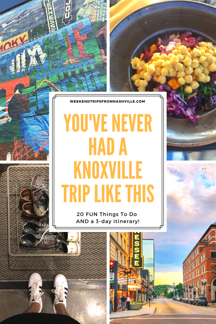 Things to do in Knoxville, TN via ThoseCrazyNelsons.com