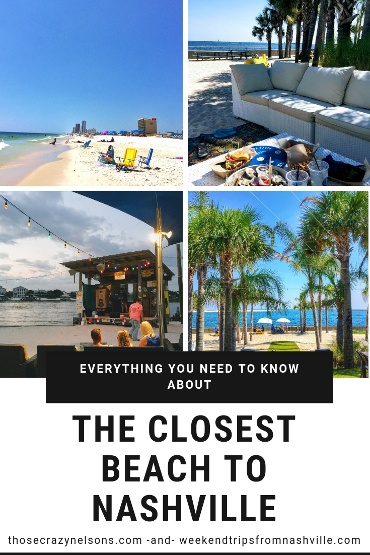 So, here's my advice:  pin this article  so that when you have that hankering for a beach getaway from Nashville, EVERYTHING you need to make your plans is right here.