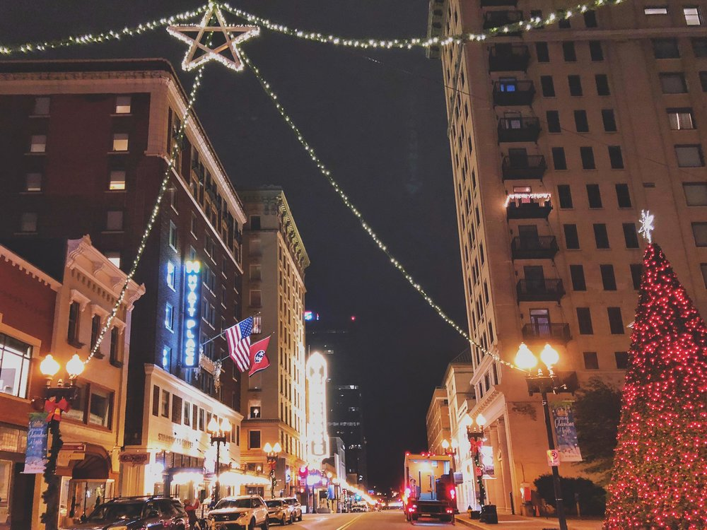Downtown Gay Street, Knoxville, TN via ThoseCrazyNelsons.com