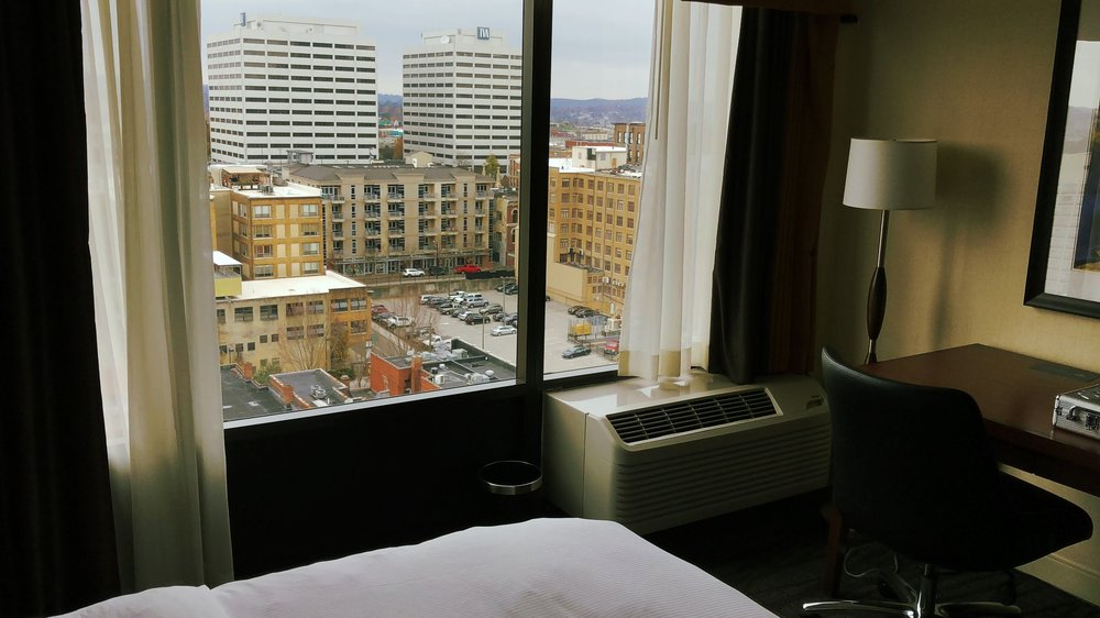 Hilton Downtown Knoxville has the best views of the city!