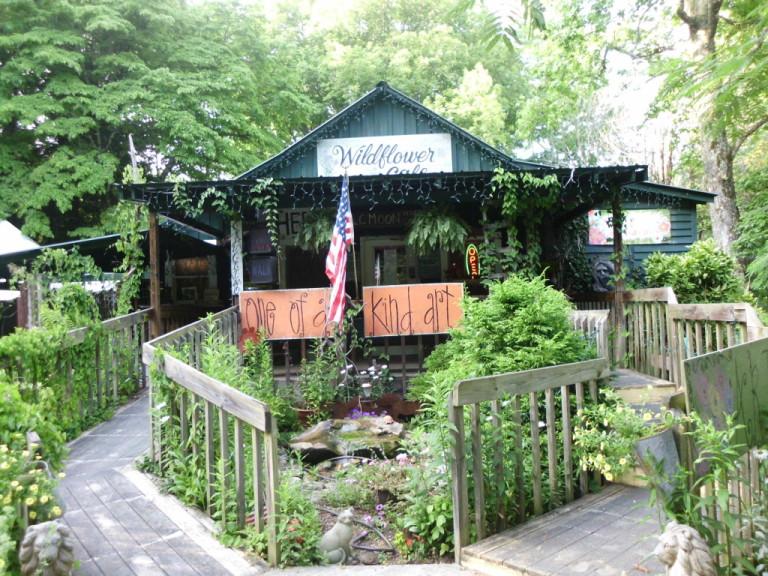 Wildflower Cafe, Mentone, AL, Photo via  See the South