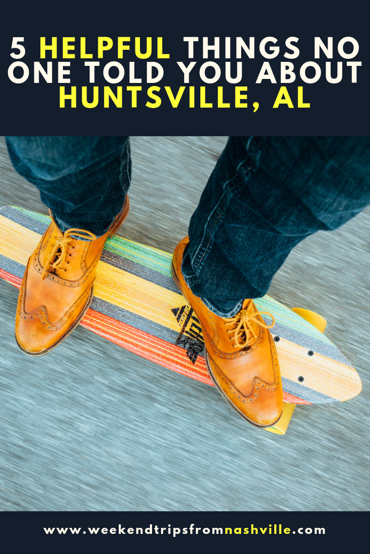 Pin this! Huntsville, Al, Things to do via Weekend Trips from Nashville