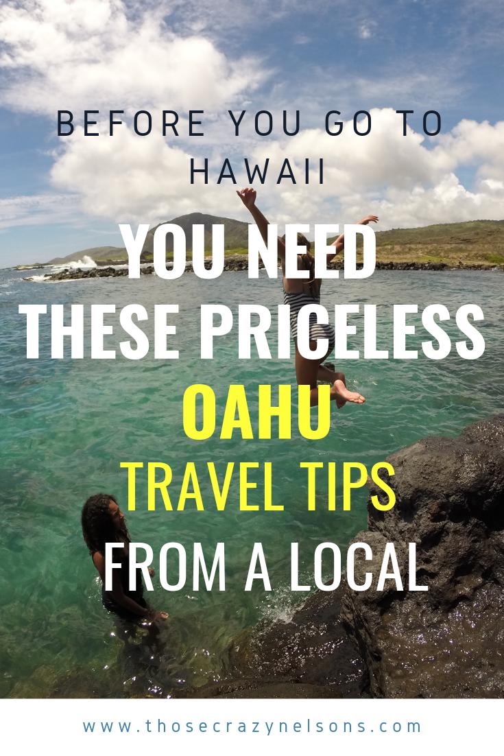 Helpful tips when visiting Hawaii