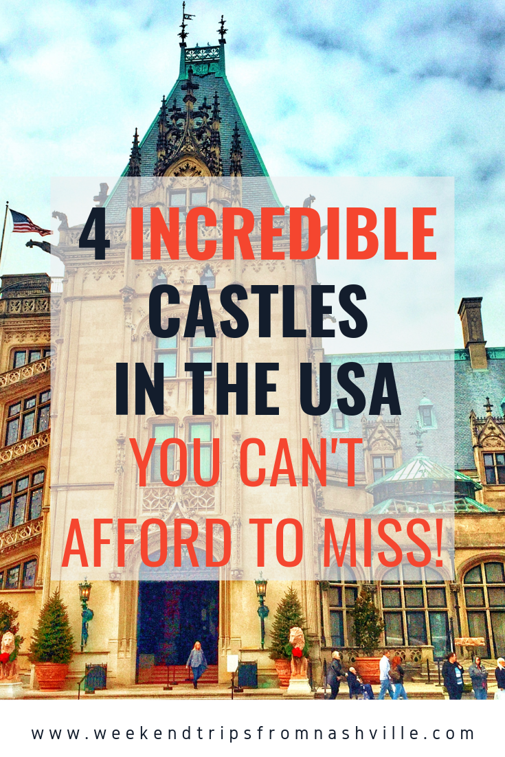 Pin for later:  Best romantic getaways for Tennessee couples, 4 castles via weekendtripsfromnashville.com
