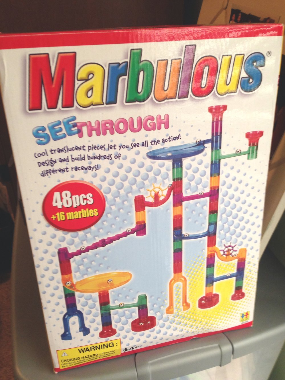 Ultra lightweight! Remove the pieces from the box and take it to go! Fun for hours!