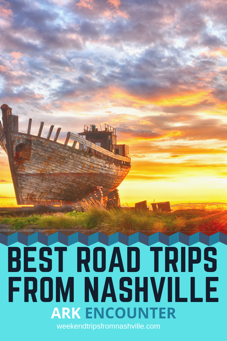 Pin this for later! Best Weekend Road Trips from Nashville: The Ark Encounter via WeekendTripsFromNashville.com