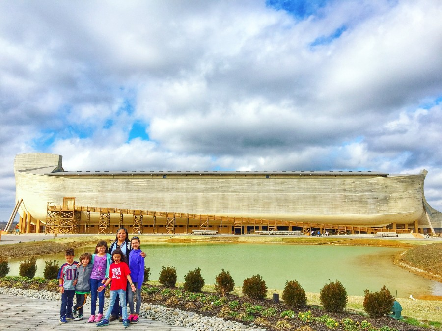 The Ark Encounter is a replica of Noah's ark. Over 4-stories high, the whopping size makes it a popular attraction.