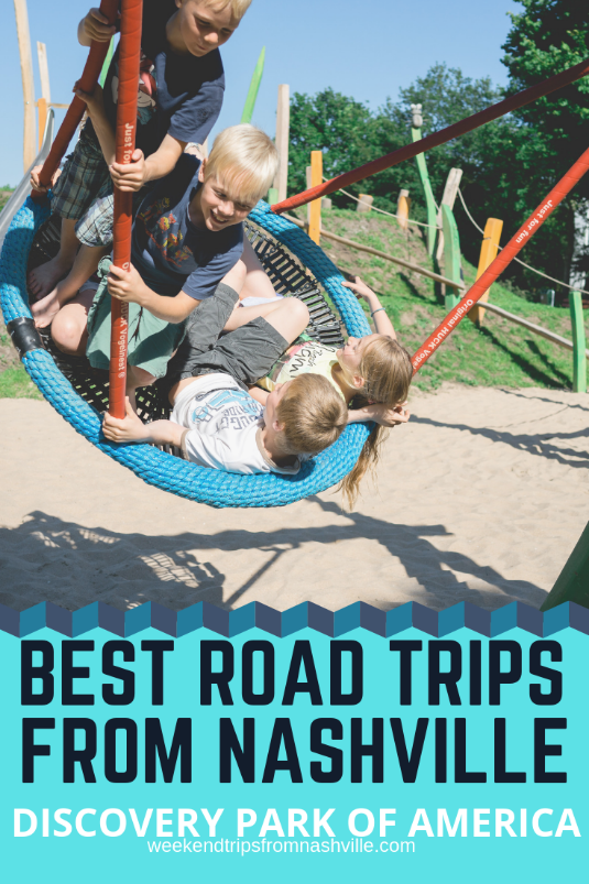 Pin this for later! Best Weekend Road Trips from Nashville: Discovery Park of America via WeekendTripsFromNashville.com