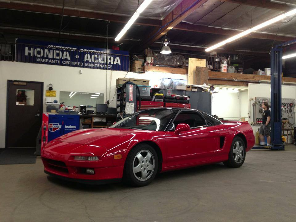 NSX in the shop.jpg