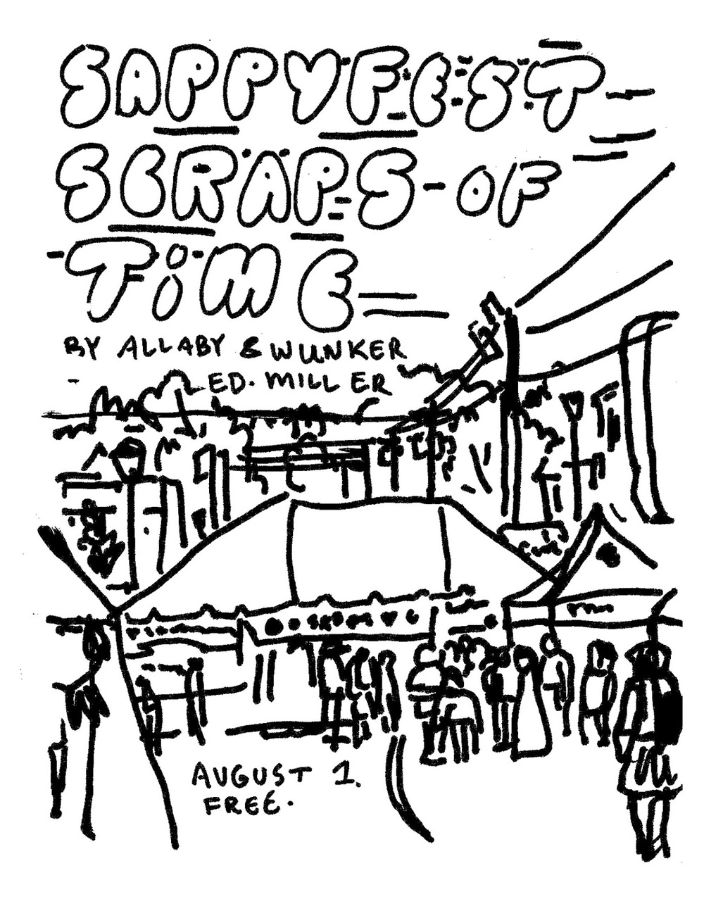 The coloring book project 2nd edition -  It To The Eleventh Edition Of Sappyfest This Summer However We Had Local Artists Patrick Allaby Geodie Miller Erin Wunker And Jerry Ropson Produce