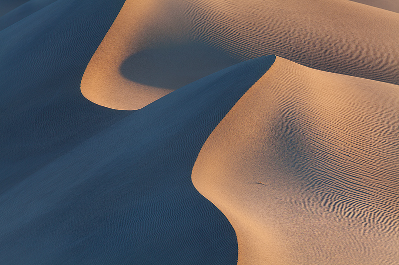 Mesquite Dunes after sunset