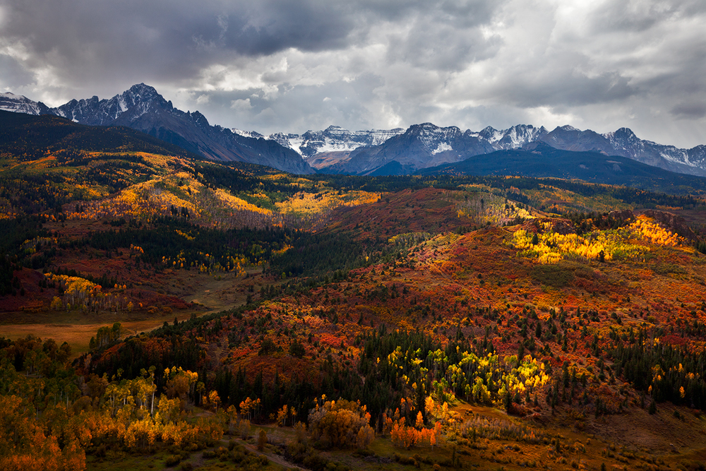 Stormy Sneffels, taken on my first trip to Colorado.