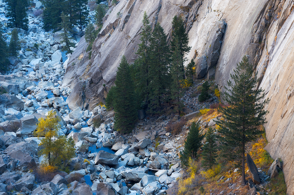 Illilouette Creek in Yosemite National Park's backcountry.