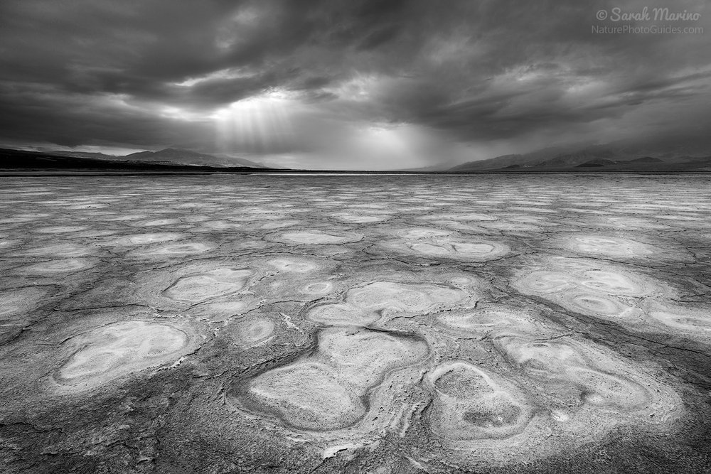 One of Death Valley National Park's many surreal landscapes.