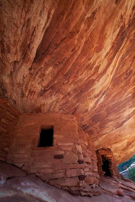 A photo of a Cedar Mesa ruin from many years ago. This area is now protected as part of Bears Ears National Monument.