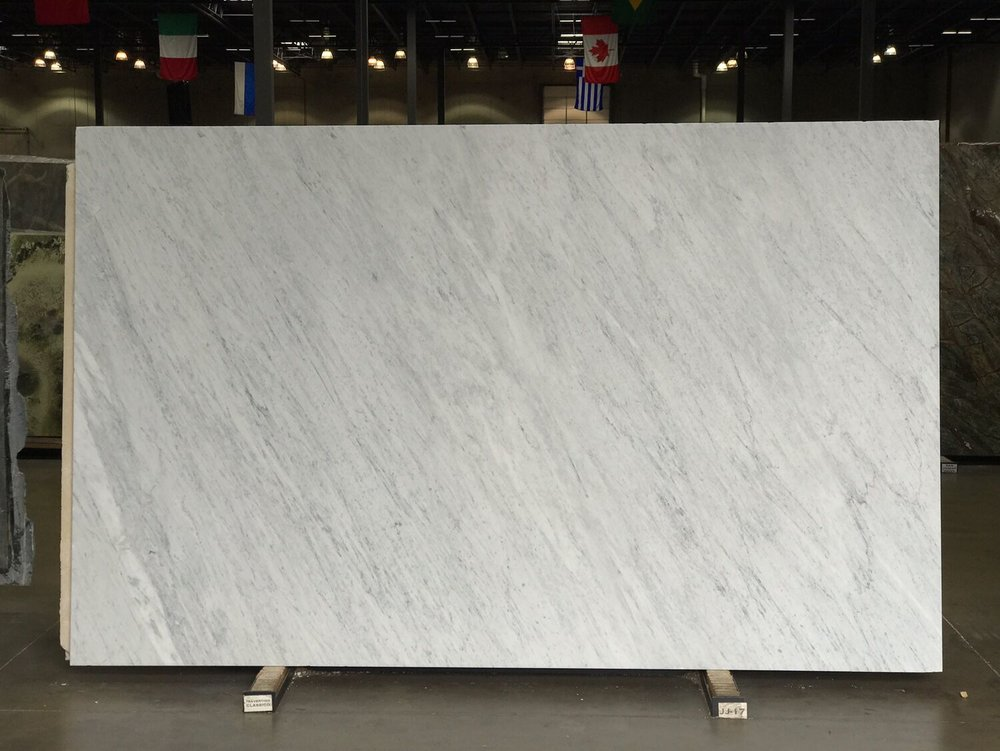June 28 - Carrara Marble - Our new counter 1/2