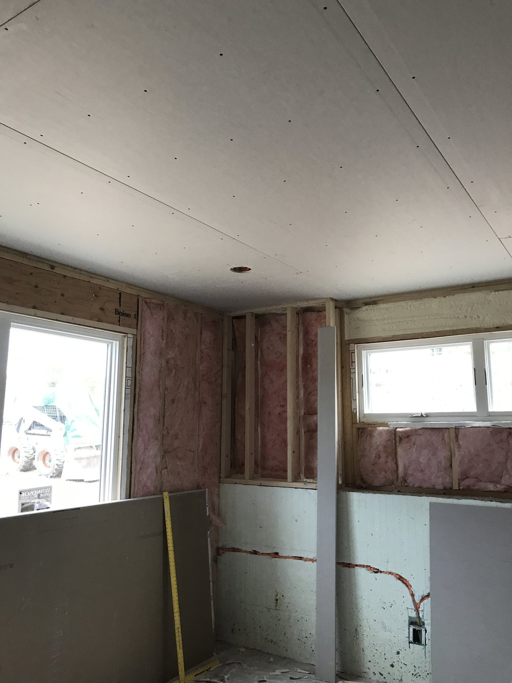July 11 - Drywall starting