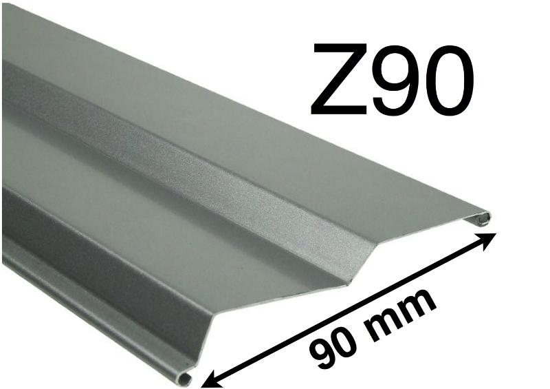 Exteriérové žalúzie Z90 detail