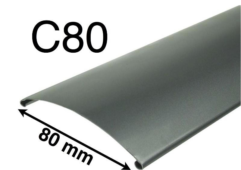 Exteriérové žalúzie C80 Detail