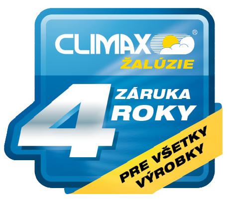 Climax záruka 4 roky