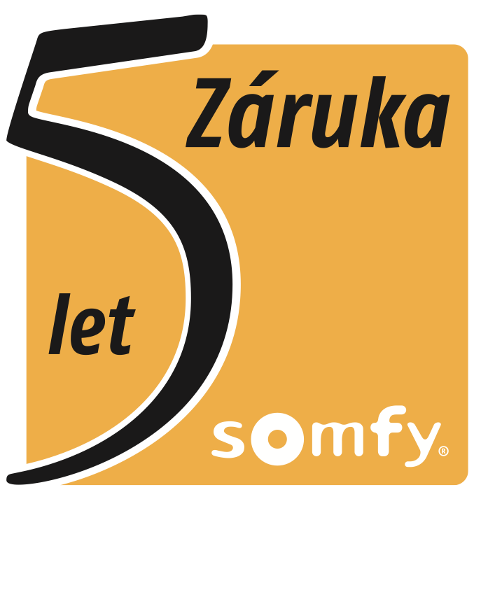 Somfy záruka 5 rokov