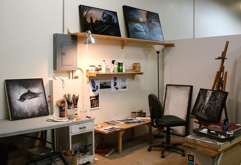 Brin's studio
