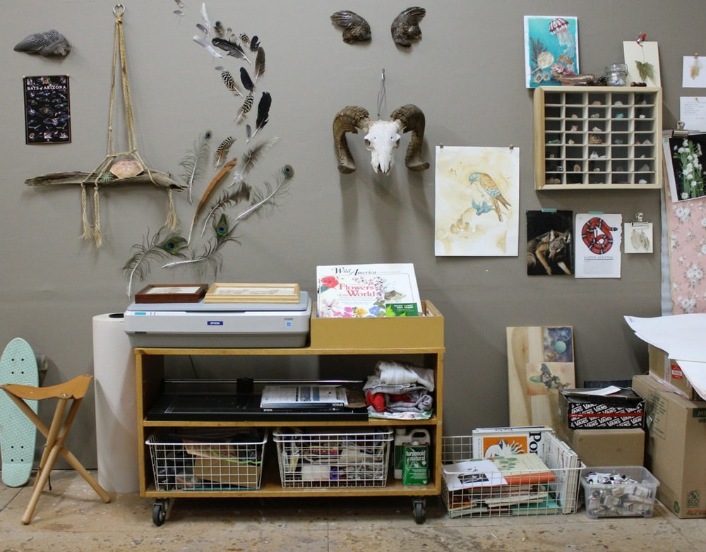 Jen's studio