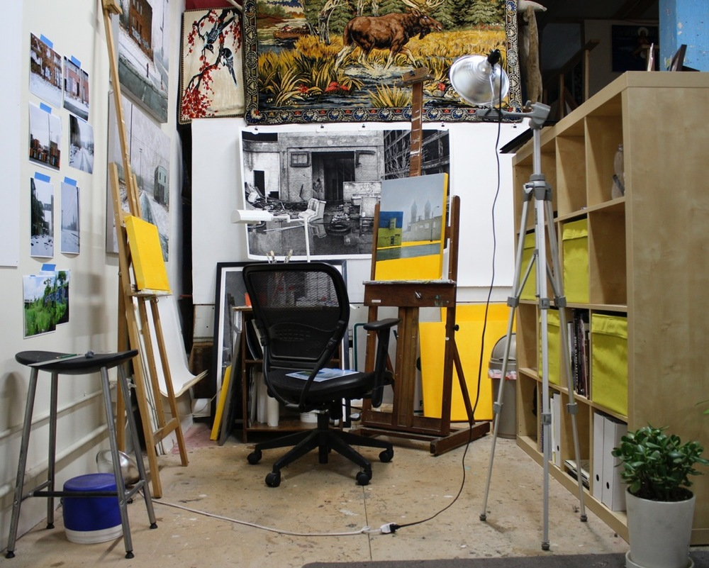 Stephanie's studio