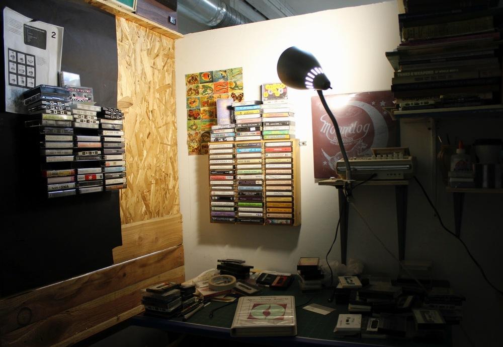 Zach's studio