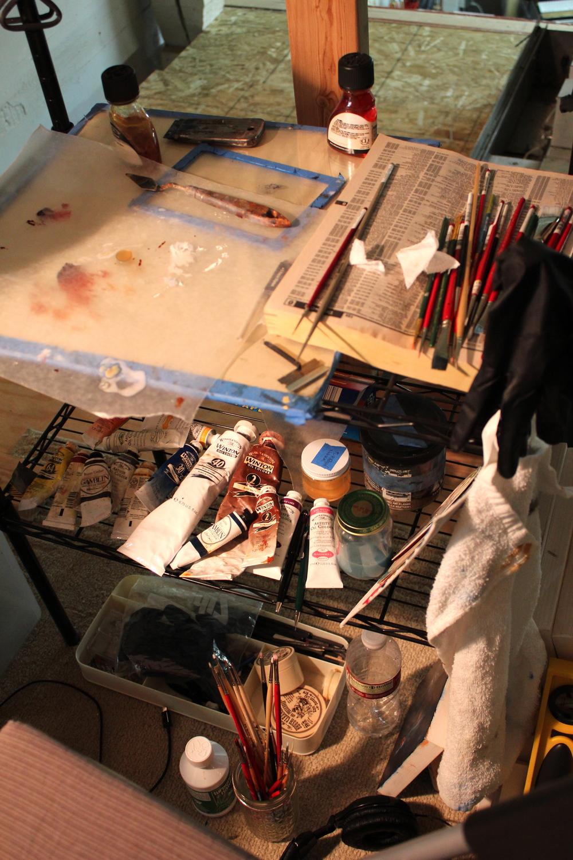 Natalie's studio
