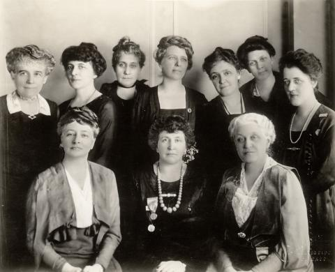 Board of Directors National League of Women Voters Chicago Convention, February 1920