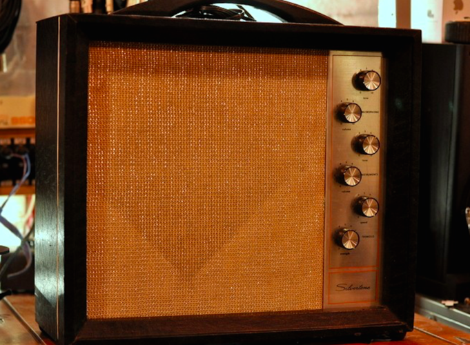 Vintage 1960s Silvertone 1472 Amp