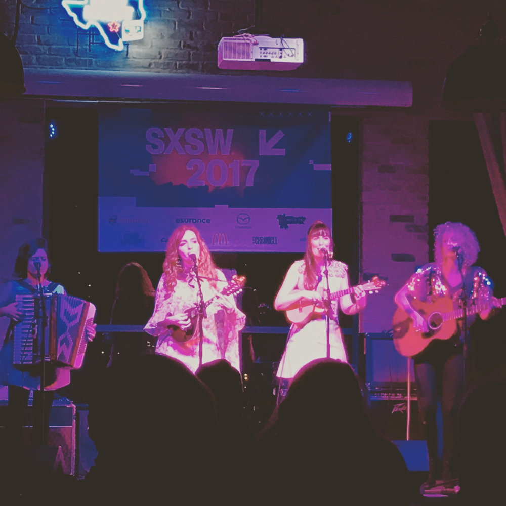 All our Exes Live in Texas traveled from Australia to play SXSW.