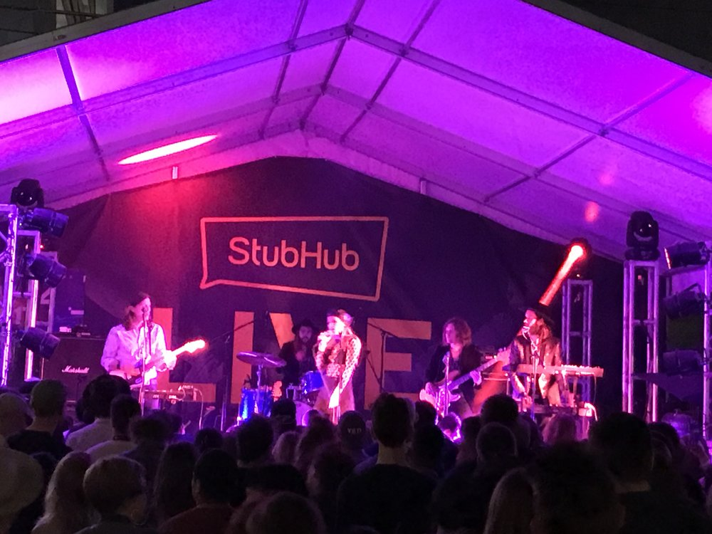 Wild Belle play StubHub's showcase