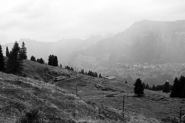 #switzerland #suisse #landscape #landscapes #lauterbrunnen #valley #fujix100s #fujifilmx100s #bw