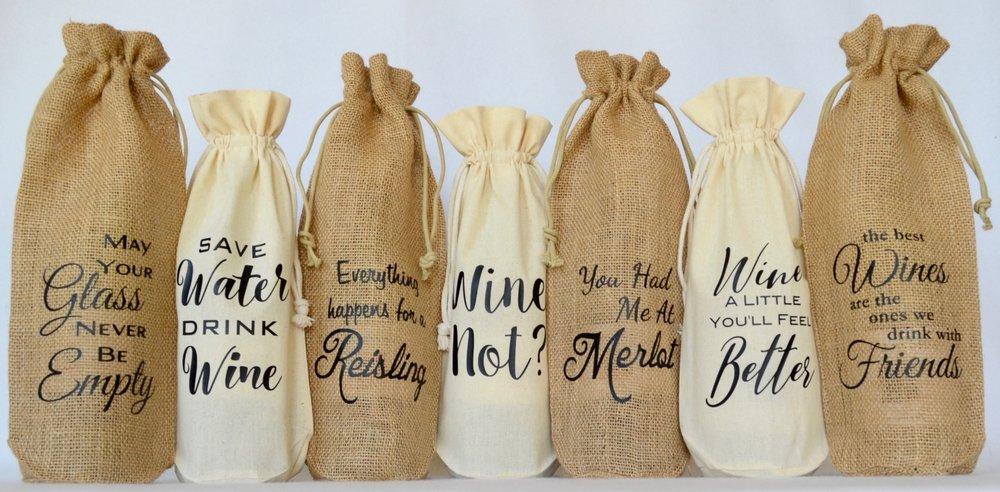 Copy of Wine Bottle Bags