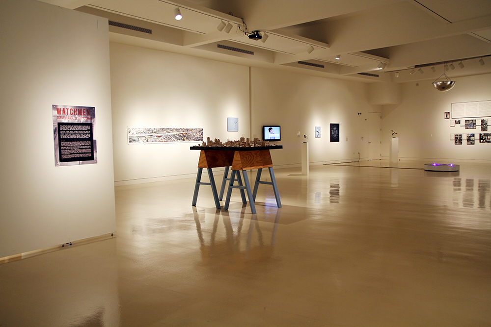 Watchmen: Surveillance and the Flaneur Exhibition view