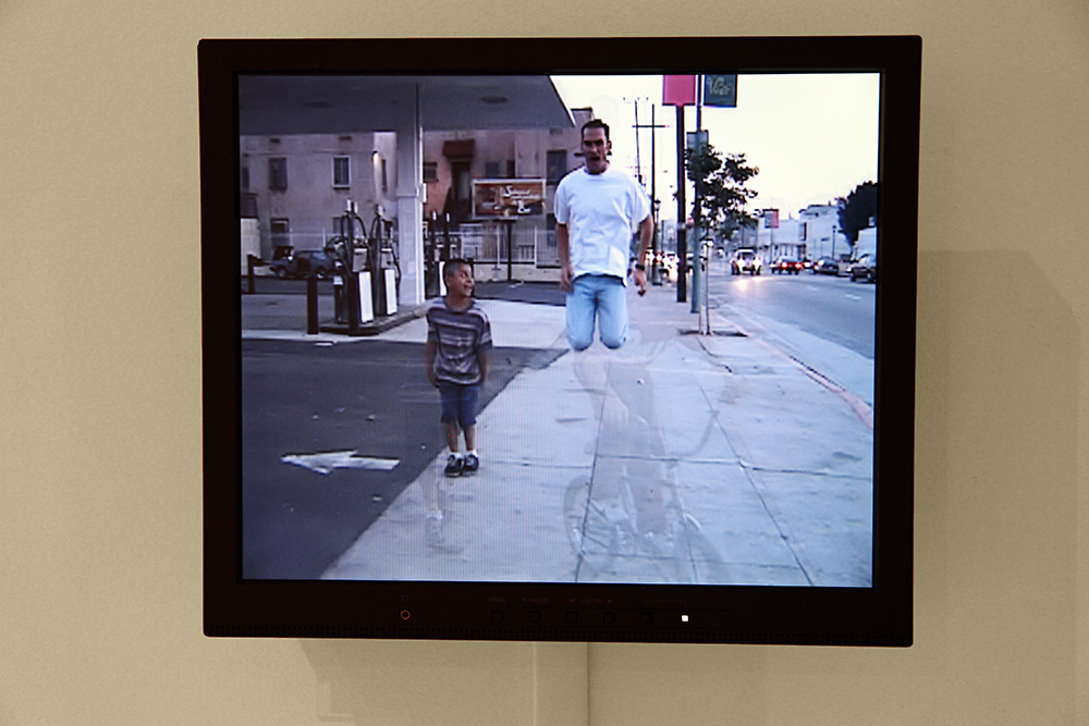 Dane Picard  Virgil Avenue Walk  1996 Standard Definition Video 38 seconds Dimension variable Courtesy of the Artist