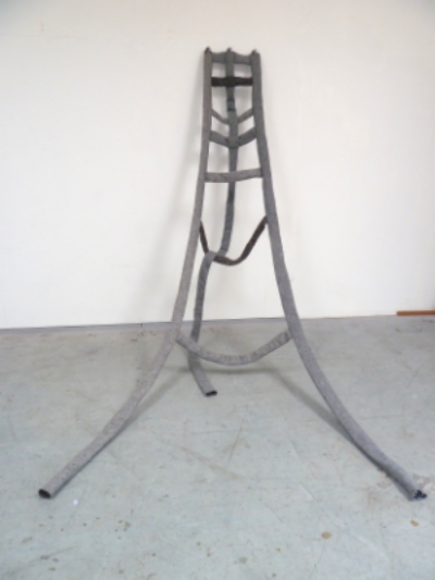 enterprise zone; 2014 9' x 7' x 8' (variable), industrial felt, hardware, grommets