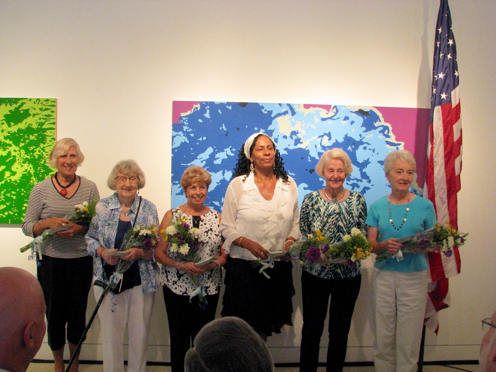 Honoring Judi Kern, Irma Maggio, Iris Rogers, Candy Paula, Audrey Suer, Ann Peitzman and Hedy Lutz for their contribution to the TAM.