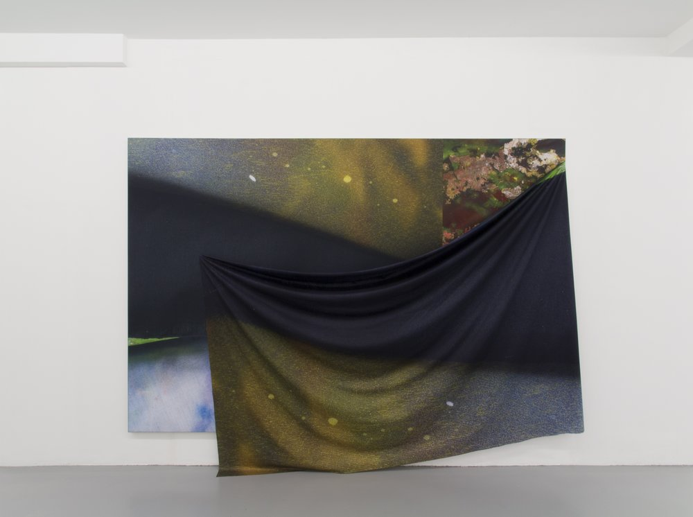 Peter Lamb, In a dead mans float, 2015, digital print on synthetic canvas, 333 x 200cm (1).jpg