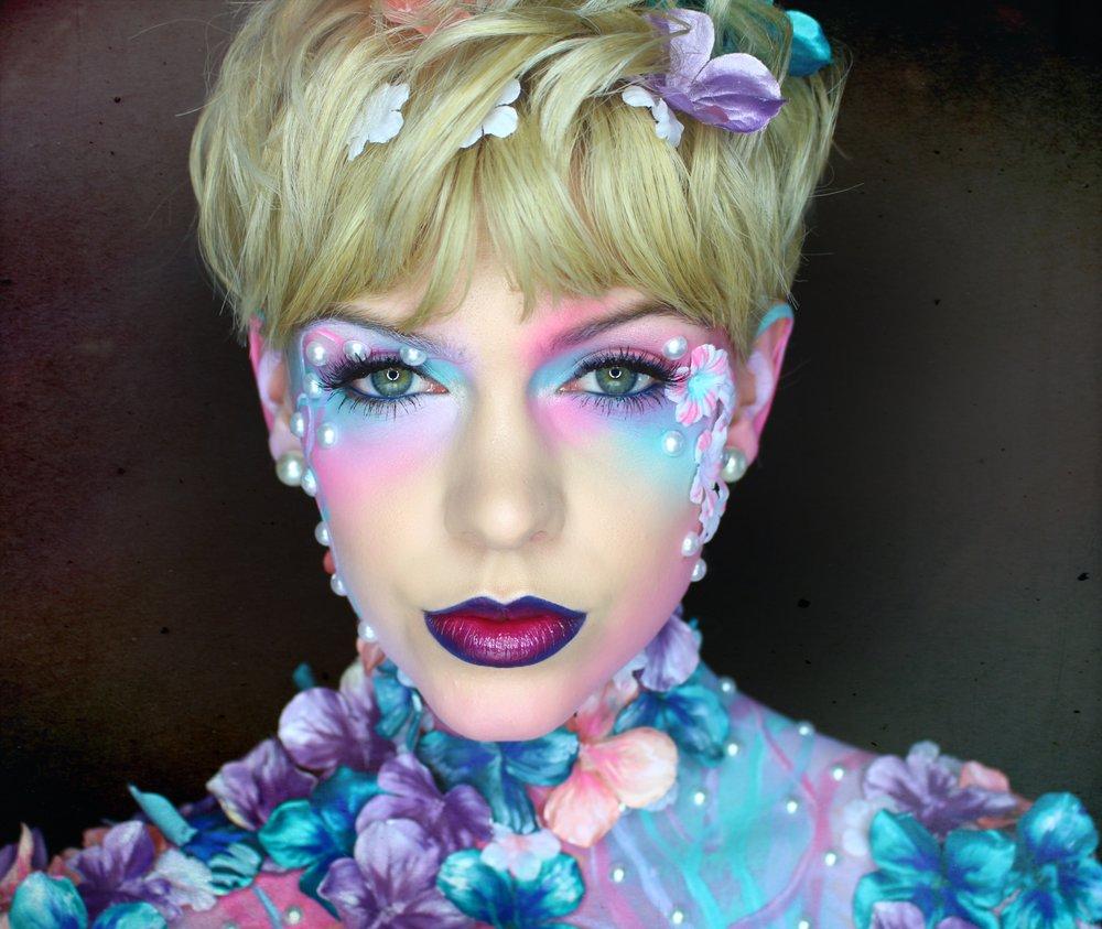 Makeup and Paint, Model and MUA: Rachel