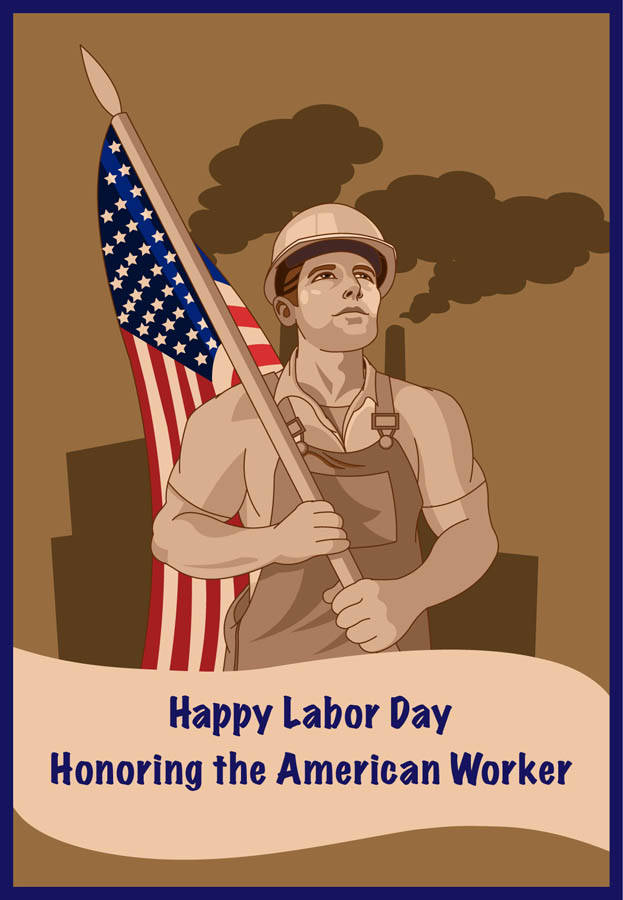 As you're prepping the boat for the lake, or the grill for the BBQ, take a moment to reflect and remember the roots of Labor Day, which is a creation of the labor movement and is dedicated to the social and economic achievements of American workers. For a brief history of this holiday, visit http://www.dol.gov/laborday/history.htm