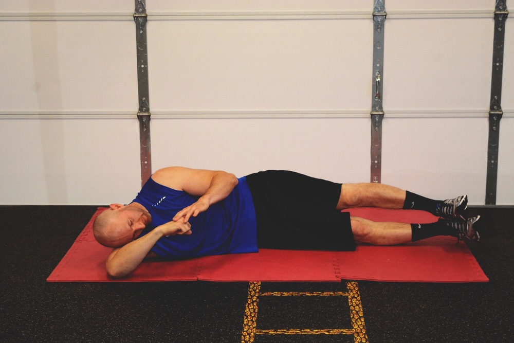 Posterior Deltoid Joint Capsule Stretch